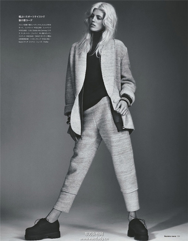 Devon Windsor《Numero》2014年7月日本版