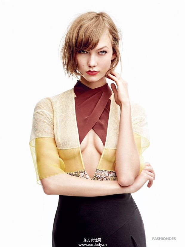 Karlie Kloss《Vogue》2014年1月日本版